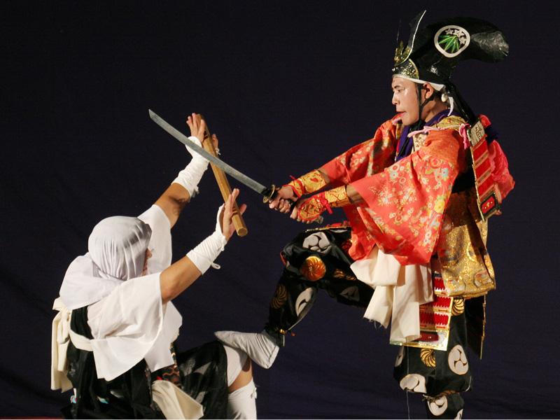 伝統芸能 能舞
